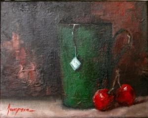 Painting: Cherry Tea