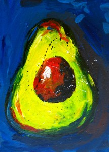 Painting: Crazy Avocados