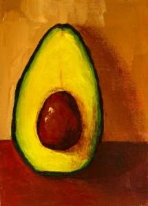 Painting: Avocado VII