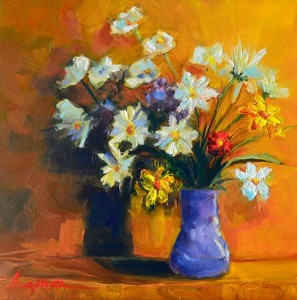 Painting: Flower Arrangement