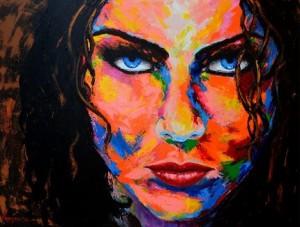 Painting: Smokey Eyes