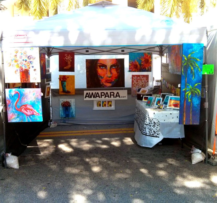 "My First Art Fair Experience – In one word ""Fantastic"""