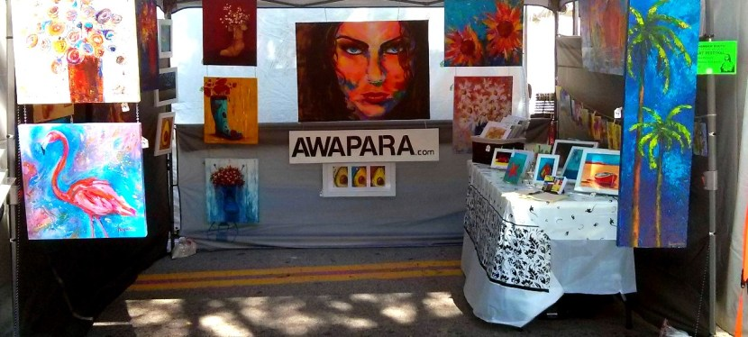 """My First Art Fair Experience – In one word """"Fantastic"""""""