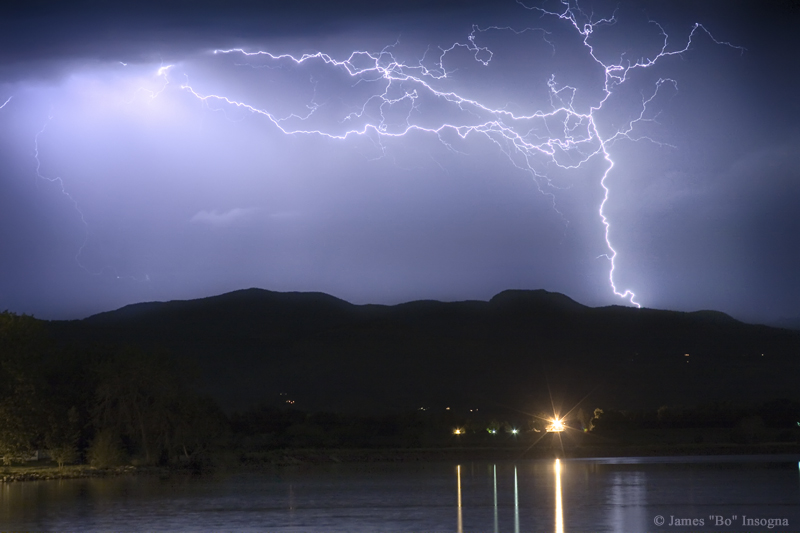 Rocky Mountain Foothills Lightning Extravaganza