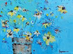 Spring Flowers II 18 x 24