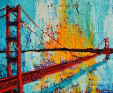 Golden Gate Bridge 20 x 24