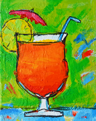 Bahama mama tropical drinks coctail alcohol beverage